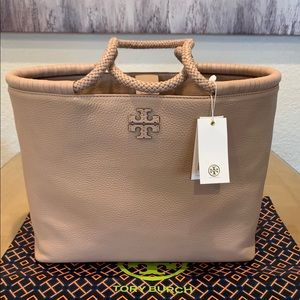 AUTHENTIC TORY BURCH TAYLOR DEVON LEATHER TOTE